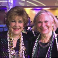 Caption: Carol Thornell and Syliva Williams