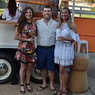 Caption: Elyse Kent, Dr. Rhett Kent and Katie Ondeck