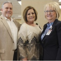 Caption: Guy F. Kennebrew, Susan Cash and Debbie McCall