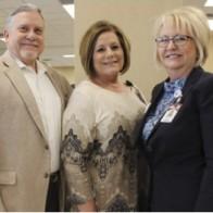 Caption: Guy F. Kennebrew, Susan Cash and Debbie McCall