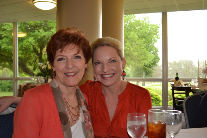 Kathy Williams and Kristen Wysong