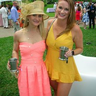 Caption: Megann McDaniel and Katrina Lamb
