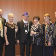 Caption: Wayne and Diane Branton, Martial and Jeneal Broussard, and Gail and Dickie McElhatten