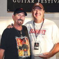 Caption: James Burton, Vince Gill