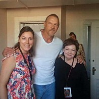 Caption: Meredith Mclellan, Trace Adkins, Janie Landry