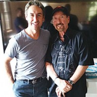 Caption: Mike Wolfe (American Pickers), James Burton
